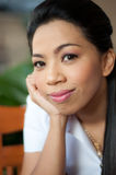 Asian college student woman Stock Photography