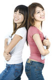 Asian college students Stock Image