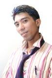Asian com cabelo colorido Fotografia de Stock