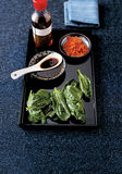 Asian condiments Royalty Free Stock Photo