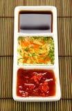 Asian Condiments Stock Photo