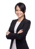 Asian confident business assistant Stock Photography