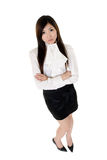 Asian confident business woman Stock Photos
