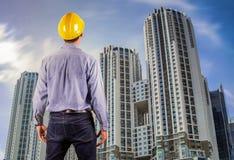 Asian construction engineer Stock Photos