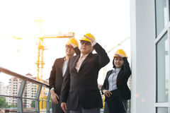 Asian Construction personnel Stock Photos