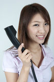 Asian contact centre Stock Image