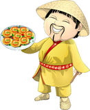 Asian cook Stock Photography