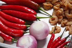 Asian cooking ingredients Royalty Free Stock Photos