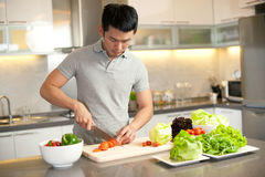 Asian Cooking Lifestyle Stock Photos