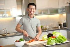 Asian Cooking Lifestyle Stock Photos
