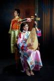 Asian copule Stock Images