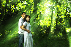 Asian couple Stock Image