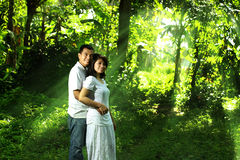 Asian couple Royalty Free Stock Image