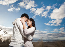 Asian couple Royalty Free Stock Photo