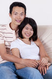 Asian Couple. Royalty Free Stock Image