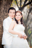 Asian couple Stock Photography
