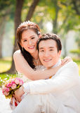 Asian couple Royalty Free Stock Photography