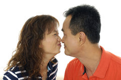 Asian couple Royalty Free Stock Photos