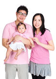 Asian couple with baby Stock Photos