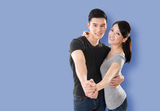 Asian couple dancing Stock Photography