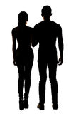 Asian couple hold hands Royalty Free Stock Photos