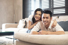 Asian Couple Lifestyle Stock Photography