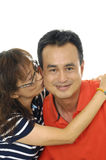 Asian Couple in love Royalty Free Stock Photo