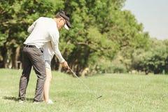 Golf Couple Royalty Free Stock Image