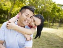 Asian couple Royalty Free Stock Photo