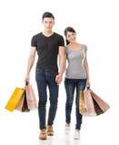 Asian couple shopping Royalty Free Stock Photos