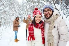 Asian couple Stock Image