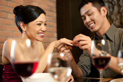 Asian Couples Lifestyle Royalty Free Stock Photos