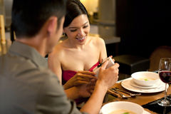 Asian Couples Lifestyle Stock Photography
