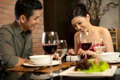 Asian Couples Lifestyle Royalty Free Stock Photos