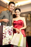 Asian Couples Lifestyle Royalty Free Stock Images