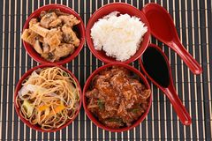 Asian cuisine Stock Images