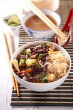 Asian cuisine, chinese soup Stock Images