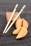 Asian Cuisine Fortune Cookies Stock Photos