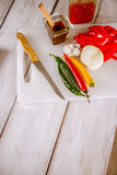 Asian cuisine, home-made natural, healthy food Stock Photo