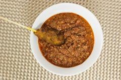 Asian cuisine - Satay Royalty Free Stock Photos