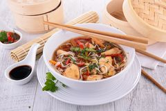 Asian cuisine,soup Stock Image