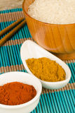 Asian cuisine spices Royalty Free Stock Image