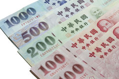 Asian currency Royalty Free Stock Photo