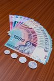 Asian Currency Royalty Free Stock Images