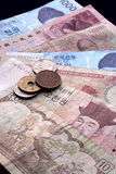 Asian currency. Royalty Free Stock Image