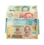 Asian currency isolated Royalty Free Stock Image