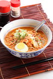 Asian Curry Noodles Royalty Free Stock Images