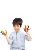 Asian cute boy with happy smile Royalty Free Stock Photo