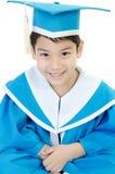Asian cute Child in Kindergarten uniform . Stock Image