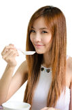 Asian cute girl Stock Images